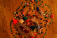 1 Stenenles met Tieners Mandala individueel